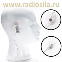 Гарнитура Radiosila GT-12 прозрачная с заушиной