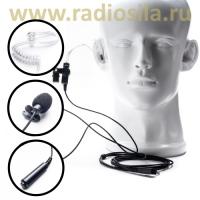 Гарнитура Radiosila GT-40 со звуководом и удобной кнопкой