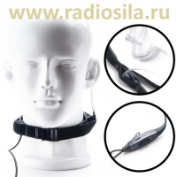 Гарнитура Radiosila GT-63 тактическая с гибким ларингофоном