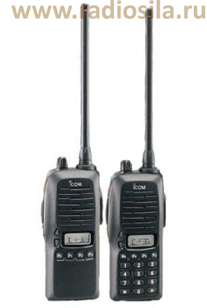 Icom IC-F3GS/ Icom IC-F3GT - портативная радиостанция Диапазон частот 136-1