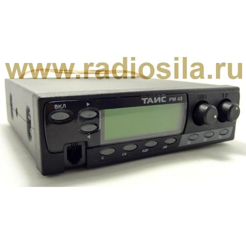 Рация ТАИС РМ-43 АМ/ЧМ (ЖКИ)