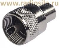01. UHF-штекер (PL 259) под RG-58