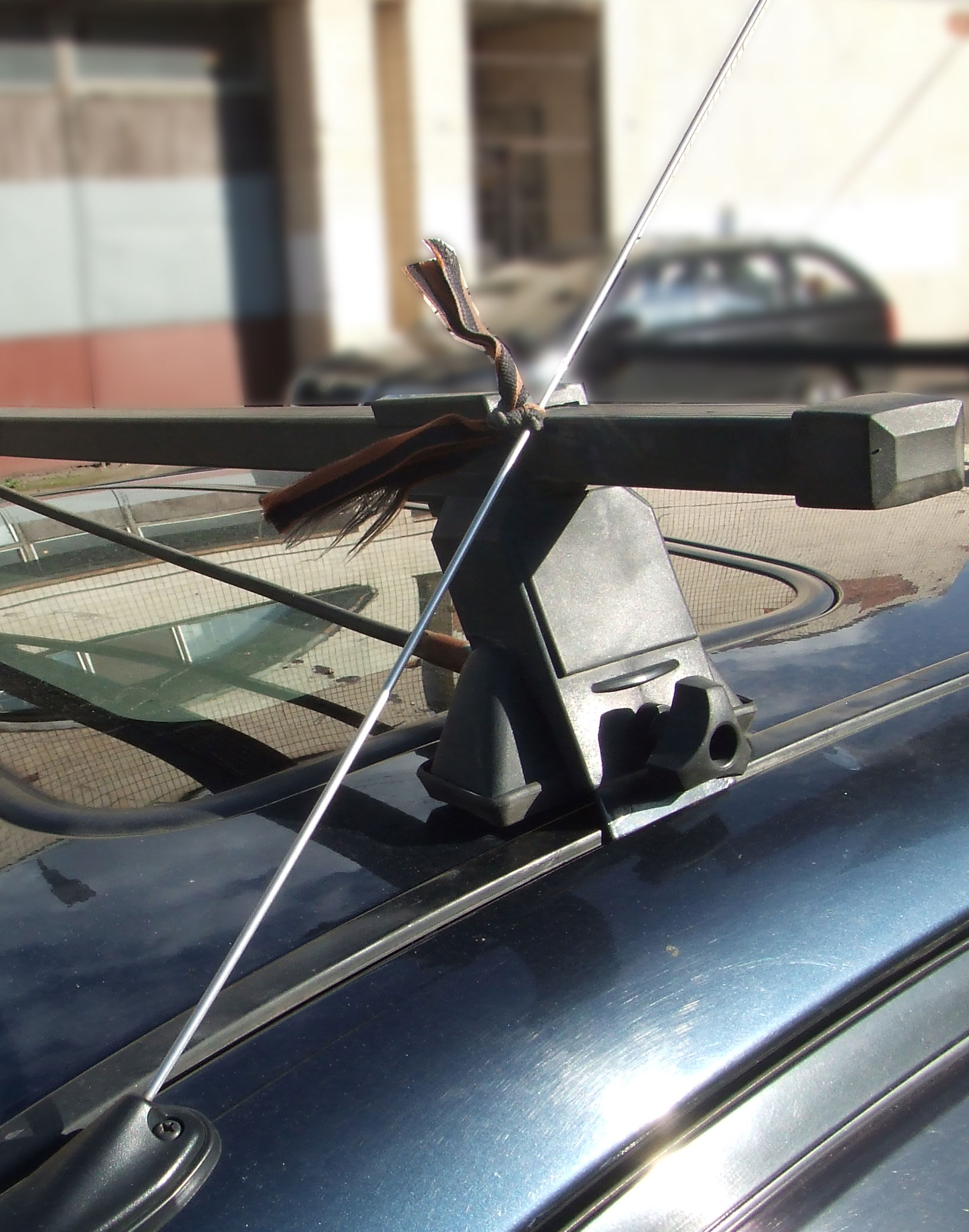 b18 - Антенны для автомобиля нет связи