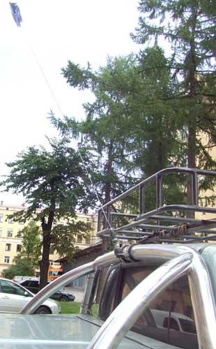 b35 - Антенны для автомобиля нет связи