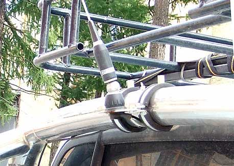 b6 - Антенны для автомобиля нет связи